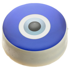 Amulet to Ward off the Evil Eye Chocolate Dipped Oreo