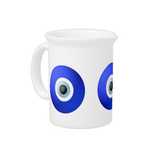 Amulet to Ward off the Evil Eye Drink Pitcher