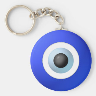 Amulet to Ward off the Evil Eye Keychain