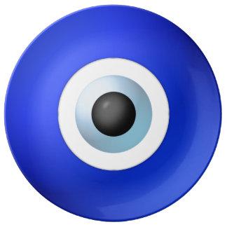 Amulet to Ward off the Evil Eye Porcelain Plates