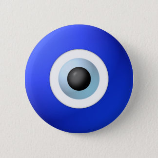 Amulet to Ward off the Evil Eye Pinback Button
