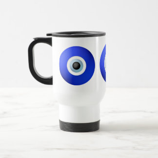 Amulet to Ward off the Evil Eye Travel Mug