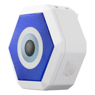 Amulet to Ward off the Evil Eye White Bluetooth Speaker