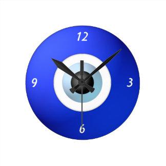 Amuleto para rechazar el mal de ojo reloj redondo mediano