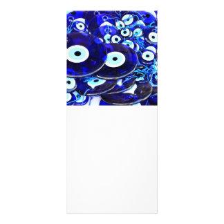 Amuletos azules del mal de ojo lonas