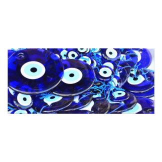 Amuletos azules del mal de ojo lonas personalizadas