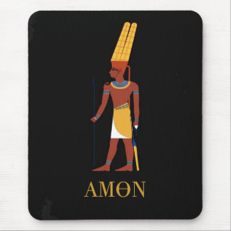 AMUN EGYPTIAN GOD MOUSE MAT
