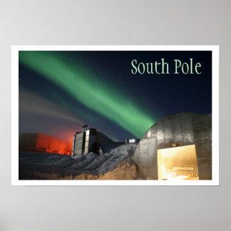 Amundsen-Scott Research Station, Antarctica Poster