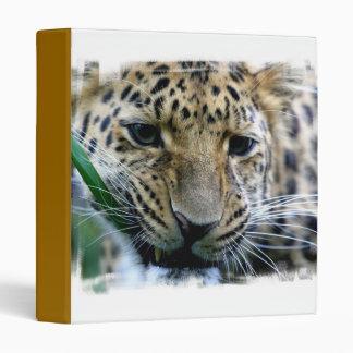 Amur Leopard Binder