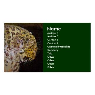 Amur Leopard Business Cards