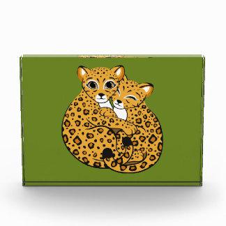 Amur Leopard Cubs Cuddling Art Award