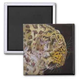 Amur Leopard Magnets