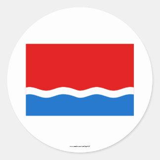 Amur Oblast Flag Sticker