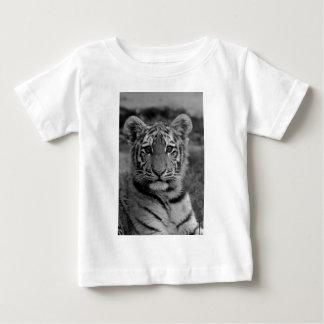 Amur Tiger Cub (Black and white) Baby T-Shirt