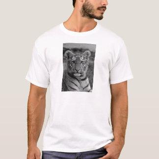 Amur Tiger Cub (Black and white) T-Shirt