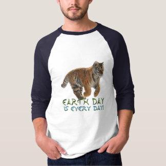 Amur Tiger Cub Earth Day Art Wildlife Shirt
