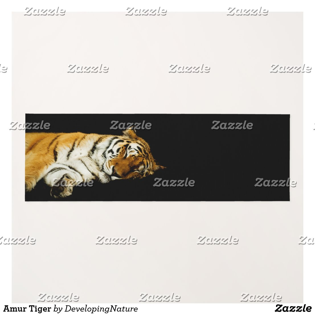Amur Tiger Yoga Mat