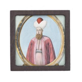 Amurath (Murad) I (1319-89), sultán 1359-89, de Caja De Recuerdo De Calidad
