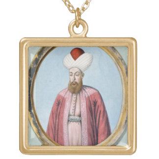 Amurath (Murad) I (1319-89), sultán 1359-89, de Colgante Cuadrado