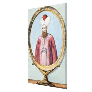 Amurath (Murad) I (1319-89), sultán 1359-89, de Lienzo Envuelto Para Galerias