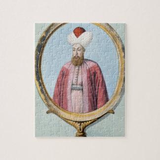 Amurath (Murad) I (1319-89), sultán 1359-89, de Puzzle