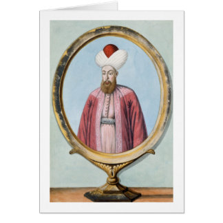 Amurath (Murad) I (1319-89), sultán 1359-89, de Tarjeta De Felicitación