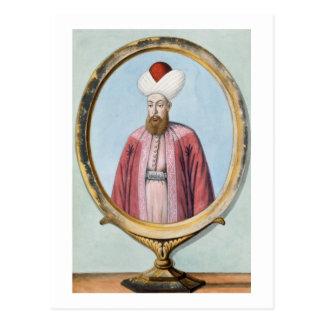 Amurath (Murad) I (1319-89), sultán 1359-89, de Tarjetas Postales
