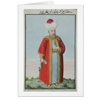 Amurath (Murad) II (1404-51) Sultan 1421-51, from Card