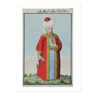 Amurath (Murad) II (1404-51) Sultan 1421-51, from Postcard