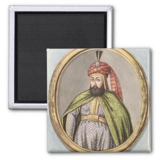 Amurath (Murad) IV (1612-40) Sultan 1623-40, from 2 Inch Square Magnet