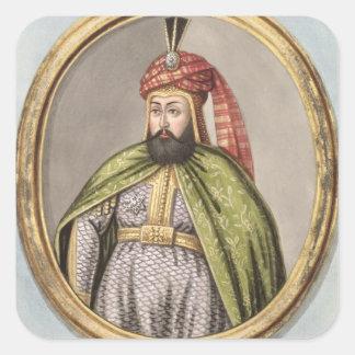 Amurath (Murad) IV (1612-40) Sultan 1623-40, from Square Sticker