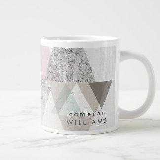 Amuse II   Geometric Modern Giant Coffee Mug