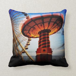 Amuse Me - Chicago Waterfront Fun Throw Pillow