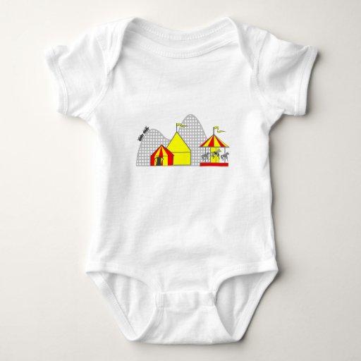Amusement Park Baby Bodysuit