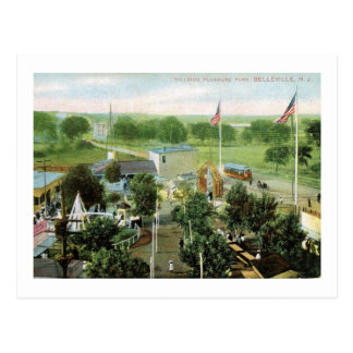 Amusement Park, Belleville, New Jersey Vintage Postcard