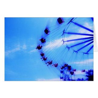 Amusement Park Card