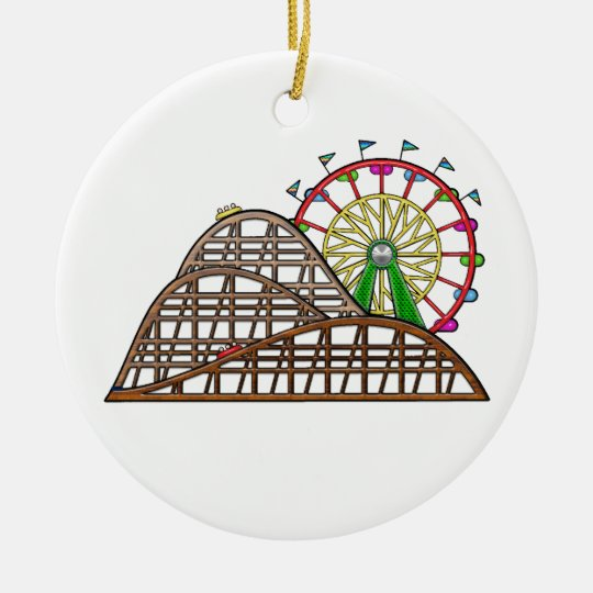 Amusement Park Ceramic Ornament