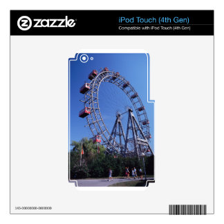 Amusement park decals for iPod touch 4G