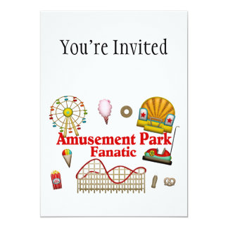 Amusement Park Fanatic Card