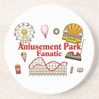 Amusement Park Fanatic Beverage Coasters