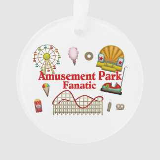 Amusement Park Fanatic Ornament