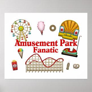 Amusement Park Fanatic Poster