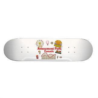 Amusement Park Fanatic Skateboard Deck