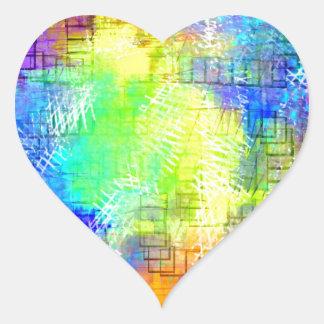 Amusement Park Heart Sticker