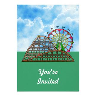 Amusement Park Invite