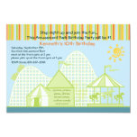 "Amusement Park Invitation 5"" X 7"" Invitation Card"