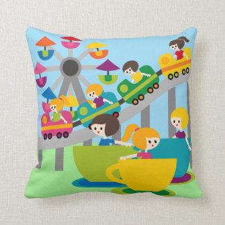 Amusement  Park Pillow