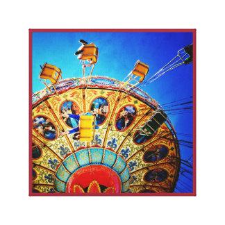 Amusement park Ride Canvas