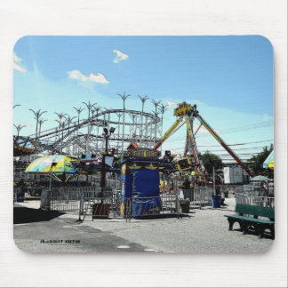 Amusement Park Roller Coaster Old Orchard Beach ME Mouse Pad