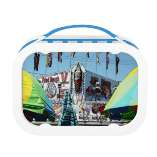Amusement Park Snack Stand Old Orchard Beach Maine Lunch Box